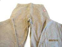 The North Face Mens Khaki Pants Size 36 x 29 Hiking Outdoor Camping Jeans  A