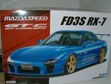 "1/24 Mazda RX7 FD3S GTC ""Mazdaspeed Tuning"" modificado deriva. Kit plástico."