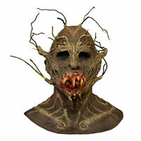 Adult The Terror Of Hallows Eve Scarecrow Horror Scary Halloween Costume Mask