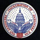 "1965 Lyndon Johnson & Hubert Humphrey 3.5"" / Inaugural Souvenir Button(Pin 01)"