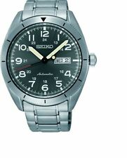 Seiko Automatic SRP709 Grey Dial Stainless Steel Men's Watch