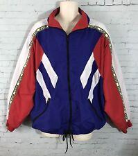 Vintage Kwon Jacket XXL Tae Rex Kwon Do Martial Arts Full Zip Red White Blue