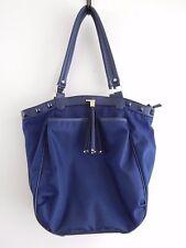 Olivia & Joy Womens Fashion Designer Handbags  Nylon Studded Tassel Blue Purple