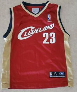 Cleveland Cavaliers Reebok jersey #23 LeBron James youth/boys/kids S 8