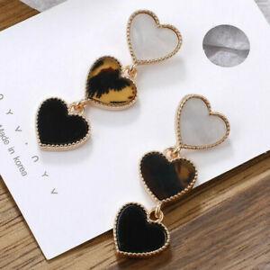Heart shape Dangle Drop Fashion Earrings Women