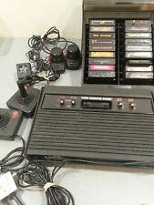 B Vintage Atari 2600 System controllers paddles joysticks Games untested pac-man