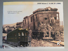 K-LINE BY LIONEL 2008 VOLUME 2 TRAIN book product CATALOG