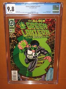Green Lantern #v3 #51 (1994) CGC 9.8 WHITE pages! 1st New Costume! 12pix INSURED