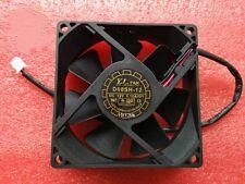 1pcs YaLnFAN 8025 D80SH-12 Fan DC12V 0.18A 80*25mm