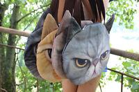 Cute Women Muchacha 3D Cat Head Face Animal Tote Bag Handbag Shoulder Women Bag