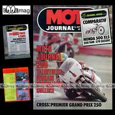 MOTO JOURNAL N°407 TRIAL CHRISTIAN ALEX ALAIN DAYSSIOLS SUZUKI SP 370 MJ200 1979