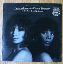 "BARBRA STREISAND & DONNA SUMMER No More Tears 12""-Maxi/DUTCH"