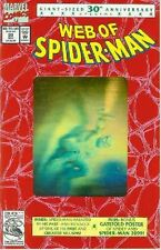 Web of spider-man # 90 (Or HOLOGRAM, 52 pages, 2nd printing) (états-unis, 1992)