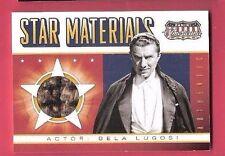 BELA LUGOSI DRACULA AMERICANA STAR MATERIALS WORN RELIC SWATCH MEMORABILIA CARD
