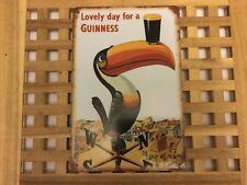 Signo de metal de estilo Vintage Retro cartel Guinness Pájaro De Estaño 2 coche Cueva de pared Home