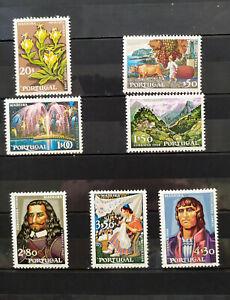 Portugal - série de 7 timbres No 1041 à 1047 neufs ++