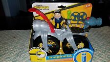 MINIONS The Rise Of Gru Movie GRU'S ROCKET BIKE & Mini Figure IMAGINEXT 2020