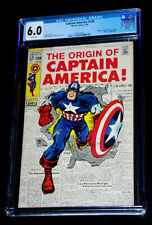 Captain America #109 CGC 6.0  (an insult to common sense..just LOOK)