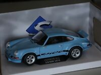 Porsche 911 RSR 2,8 1974 blau 1:18 Solido 118409 neu + OVP