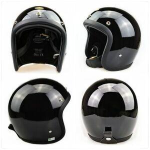 Motorcycle Helmet Japanese Low Profile 500TX open face Fiberglass vintage Helmet