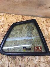 PORSCHE 924 944 OFFSIDE REAR 1/4 GLASS . RIGHT HAND QUARTER LIGHT WINDOW .