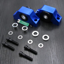 2 Pieces Blue Engine Motor Torque Mounts Fit Honda Civic 92-00 B D Series