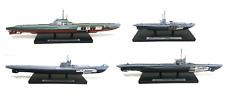 Lot de 4 Sous-Marins 1/350 U-boot Orzel S13 Editions Atlas navires militaire WW2