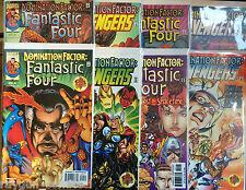 Domination Facteur #1-8 Set VF 1er Imprimé Marvel Bande-dessinée