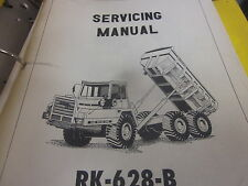 Payhauler RK-628-B Dump Truck Service Manual
