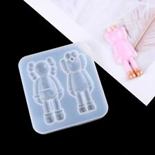 Cartoon Kaws Silicone Mold-Kawaii Kaws Resin Mold-Kaws Patch Mold Sesame Street