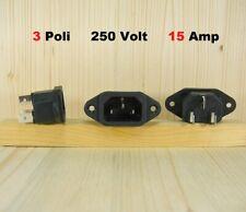 SPINA IEC 3 Poli tripolare VDE incasso da pannello fissaggio a vite