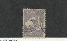 Australia, Postage Stamp, #41 Used, 1915 Kangaroo