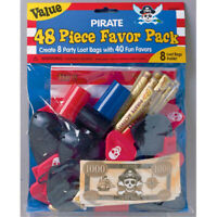 PIRATE 48 piece Mega Value Pack Favours Loot Kids Birthday Party