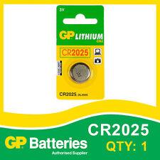 GP Lithium Piles bouton CR2025 (DL2025) carte de 1 [ watch & calculatrice + autres ]