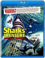 SHARKS TREASURE (1975) Blu-Ray *Limited 1/1500 *Yaphet Kotto JAWS Horror!! *RARE