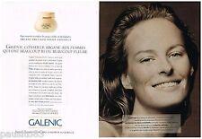 PUBLICITE ADVERTISING 095  1993  LABORATOIRES GALENIC   cosmétiques (2p)