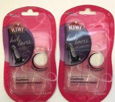 KIWI Heel Liners Gel Cushions 1 Pair Cushions Insoles Anti-Slip Pads