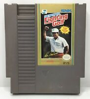 Nintendo NES Lee Trevino's Fighting Golf Game Cart *Authentic/Cleaned/Tested*