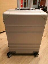 Reisekoffer Koffer Trolley Alu Klein In Silber aus Aluminium Neu & OVP