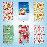 Christmas Santa Wallet Case Cover iPhone XS MAX XR X 8 7 6 6S Plus SE 5S 074