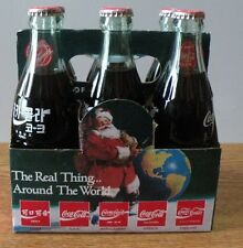 1990 Coca-Cola Coke Classic Commemorative Bottles set of 6 mixed unopened