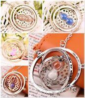 New Plated Harry Potter Time Turner Necklace - Coloured Sand U Choose