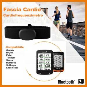 Fascia Cardio per Garmin Bluetooth Ant Bryton Polar Cardiofrequenzimetro Suunto