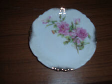 Vintage Wheelock china small plate pink roses GERMANY