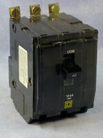 SQUARE D QOB340VH CIRCUIT BREAKER 40 AMP 120//240 VAC 3 POLE NEW TAKE-OUT
