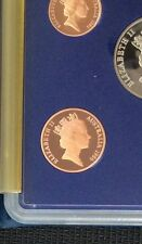 1986 2 cent proof coin in 2 x 2 holder
