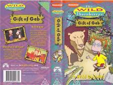 NICKELODEON THE WILD THORNBERRY  GIFT OF GAB VHS VIDEO PAL~