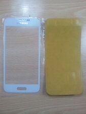 Cristal de Pantalla de Color BLANCO para Samsung Galaxy S5 Mini G800 + Adhesivo