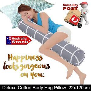 LUXURY LONG BODY HUG PILLOW BEDDING BED SOFA CUSHION PREGNANCY BOLSTER NURSING C
