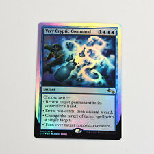MTG VERY CRYPTIC COMMAND (D) Unstable (LP) Rare English Foil